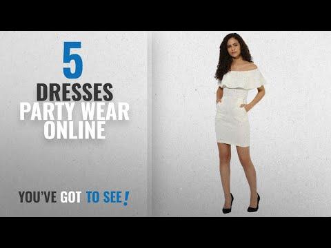 Top 10 Dresses Party Wear Online [2018]: Texco women's off shoulder party dress