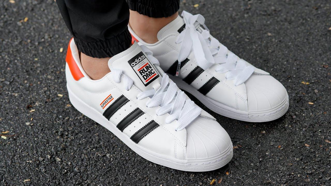 Run DMC x Adidas Superstar REVIEW & ON FEET