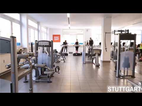 GYM10 Fitness in Stuttgart. Studiorundgang