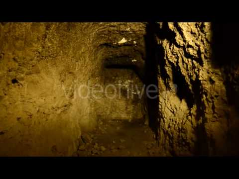 Abandon Gold Silver Mine At Night 5 - Stock Footage   VideoHive 10974455