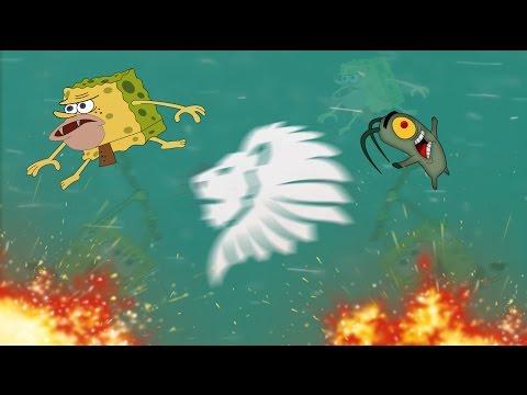 SpongeBob Fun Song Trap Remix (Bass Boosted)