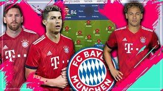 RONALDO, MESSI & NEYMAR zum FC BAYERN MÜNCHEN holen ?! | 🔥 FIFA 19 Karrieremodus Experiment