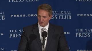 Senator Jeff Flake (R-AZ) speaks at The National Press Club