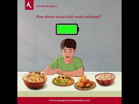 Mid-Week Recharge With Annapoorna Masalas & Spices