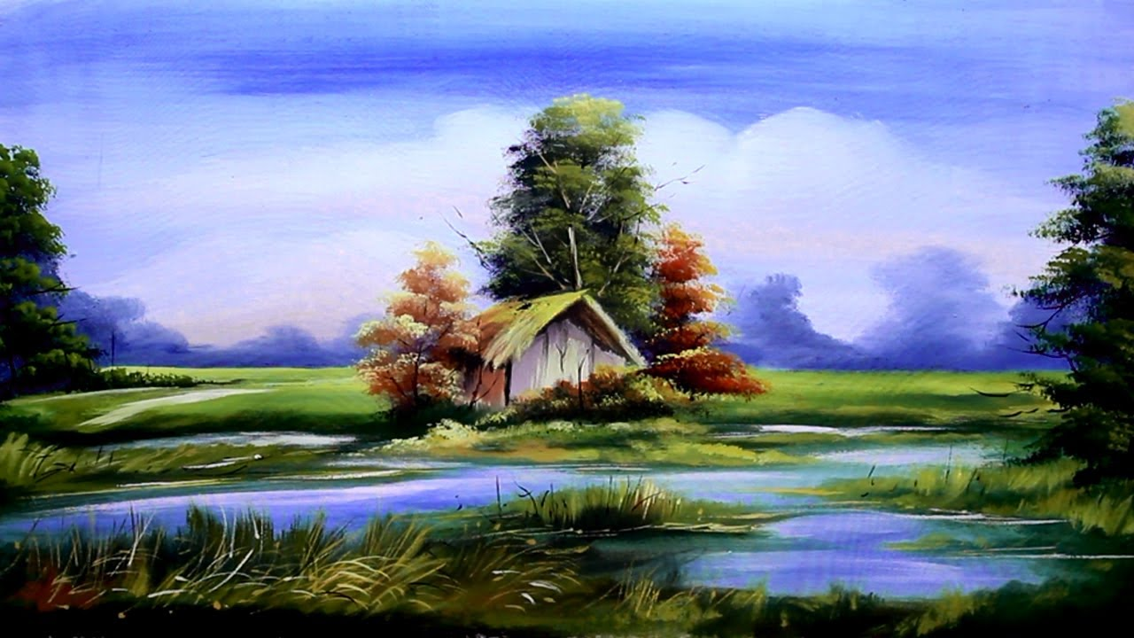 Acrylic Painting on Canvas for Beginners step-by-step ...