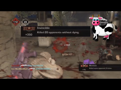 Ess MooMooMiLK on King of the Hill Unstoppable on Gears of War 3