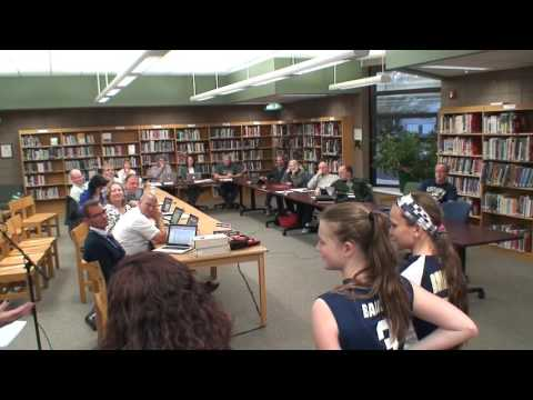 Board Meeting October 12th, 2015