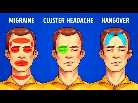 5 Types of Headaches and How to Get Rid of All of Them