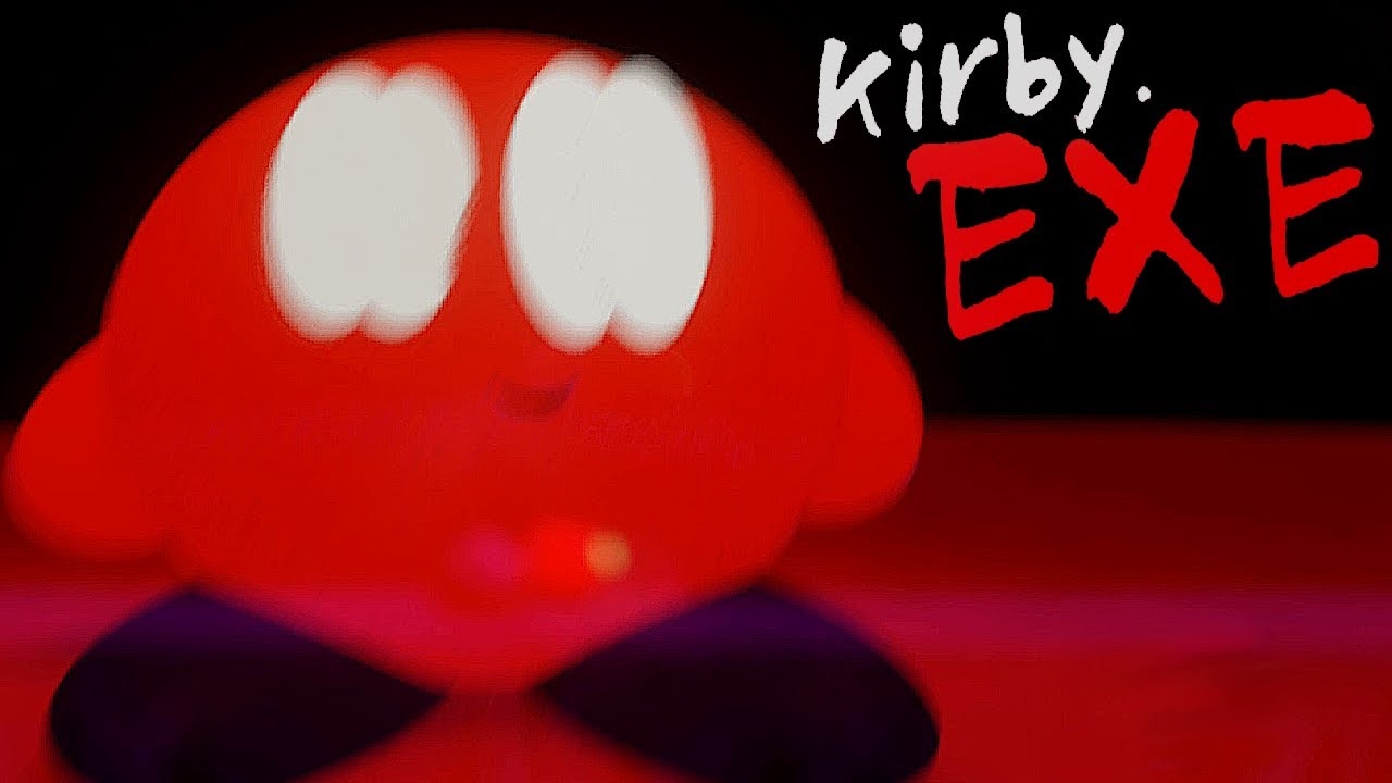 KIRBY.EXE!! WATCH OUT BECAUSE .EXE MEANS SCARY SOMETIMES!!!