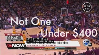 Ticket pricing for Cavs NBA Finals home games