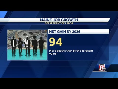 Report: Maine to see just 94 net new jobs through 2026