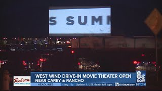 North Las Vegas drive-in movie theater reopens