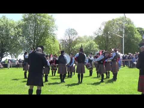 Raphoe Pipe Band @ Ards & North Down Pipe Band Championships 2016