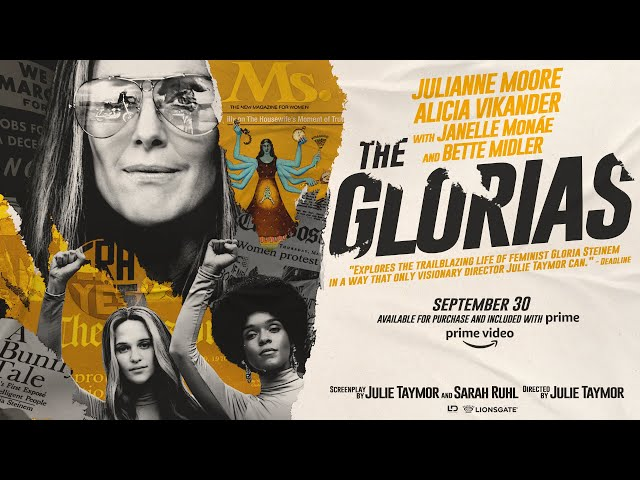 The Glorias | Official Teaser | Available purchase and included on Prime Video on 9/30