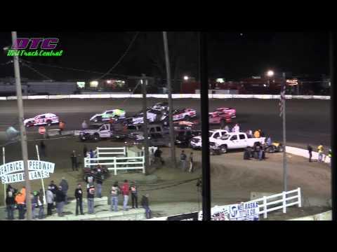 IMCA Modified Heats Spring Nationals Beatrice Speedway 3 14 15