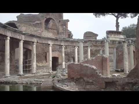 Ruderi di villa adriana - residenza imperiale dell'imperatore Adriano ( tivoli ) roma