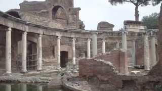 Ruderi di villa adriana - residenza imperiale dell
