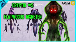 Fallout 76 West Virginia Folklore | Cryptid #5 - The Flatwoods Monster