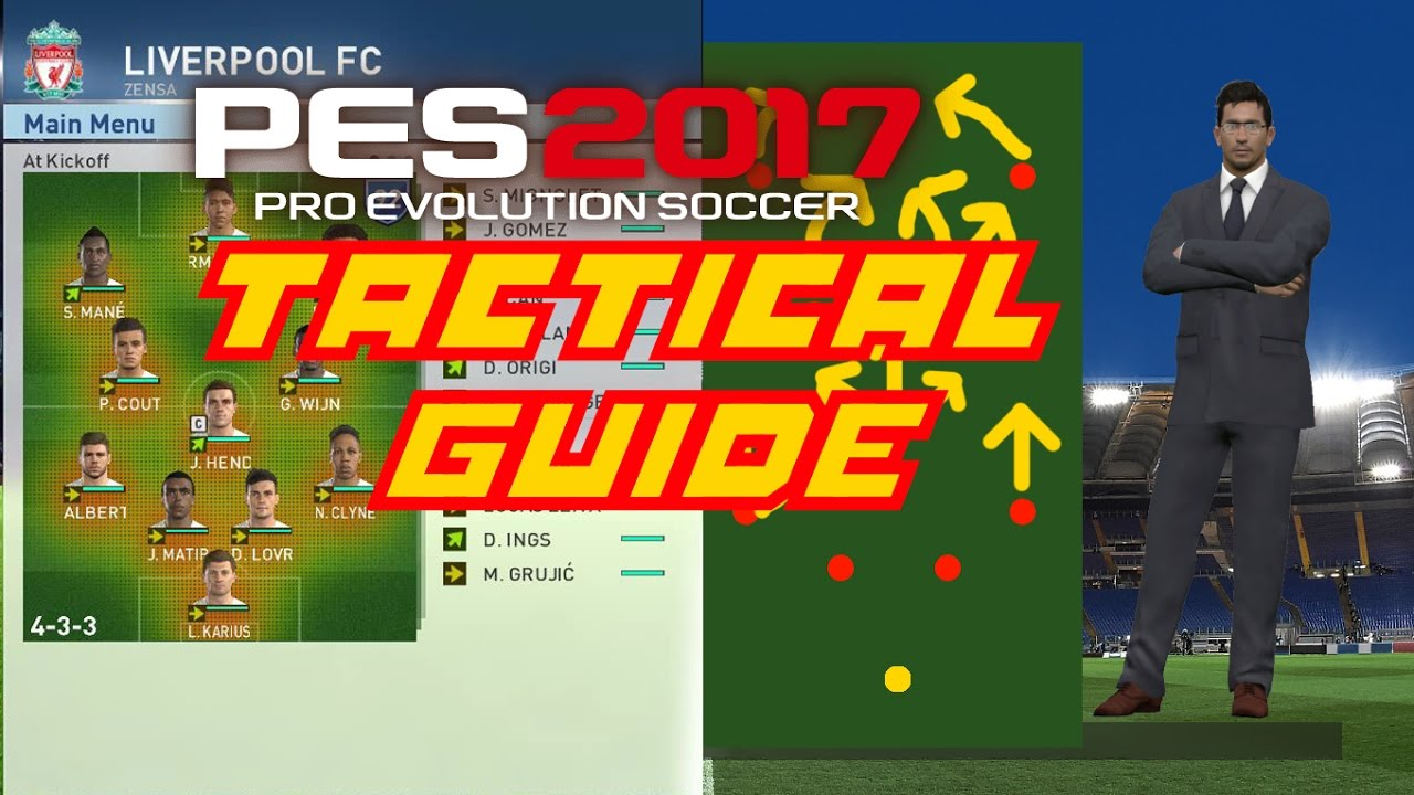 PES 2017 Tips & Tricks - Tactical Guide (Attack, Defend, Advanced  Instructions) - YouTube