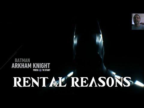 Batman: Arkham Knight (PS4) [Rental Reasons]
