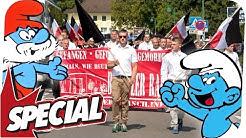 Neonazis und Party-Schlümpfe! Demo in Bad Nenndorf I SPECIAL