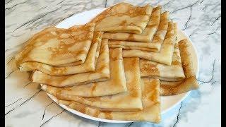 Простые Блины Без Заморочек (Быстро и Вкусно) / Блины На Молоке / Pancakes Recipe (Crepes)