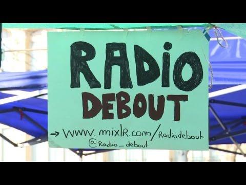 """A Paris, """"Radio Debout"""" émet depuis la République"""