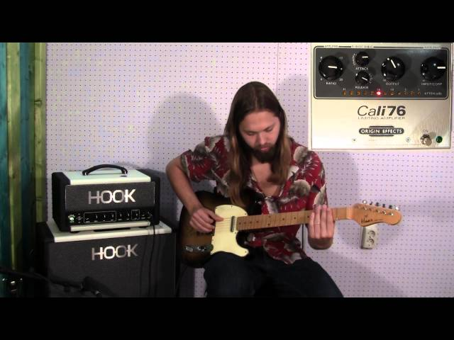 Haar guitars Demo - Origin effects Cali 76