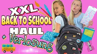 XXL BACK TO SCHOOL HAUL 2017+VERLOSUNG! +Outtakes | coole Mädchen Z&F