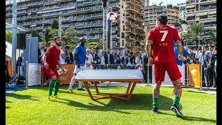 TEQBALL - All Stars Show, Monaco - Luís Figo