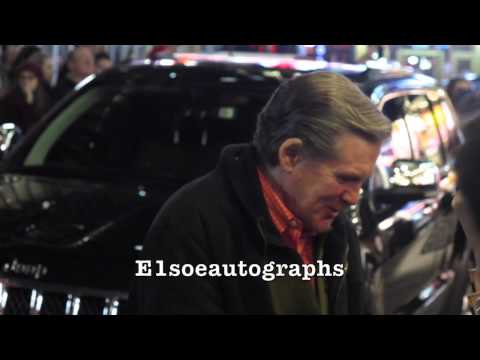 Anthony Heald signing autographs at The Elephant Man