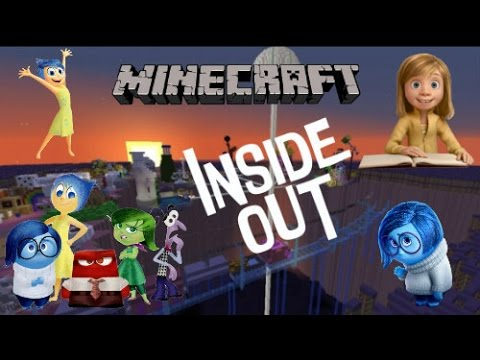 Minecraft: INSIDE OUT MAP 'Riley's Mind' (Download+Showcase) HD *Adventure Map*