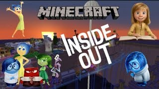 Minecraft: INSIDE OUT MAP new
