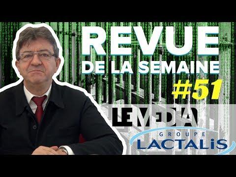 #RDLS51 : LACTALIS, PRISONS, LE MÉDIA, NEUTRALITÉ DU NET