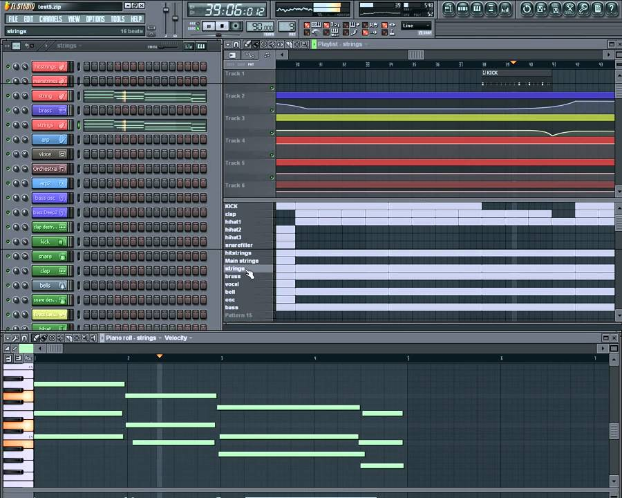 Fl Studio 9 - 90 BPM - Rap Beat - free * flp Project download - 17hz Beats