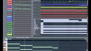 Fl Studio 9 - 90 BPM - Rap Beat - free *.flp Project download - 17hz Beats