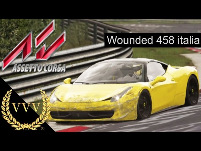 Assetto Corsa PS4 Wounded Ferrari 458 Italia