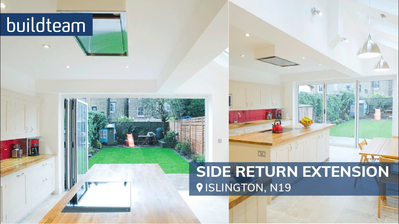 Side Return Extension in Islington - YouTube