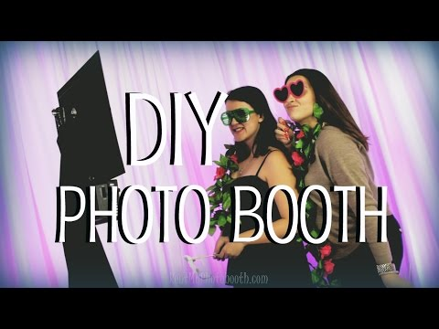 How To Setup a DIY Photo Booth