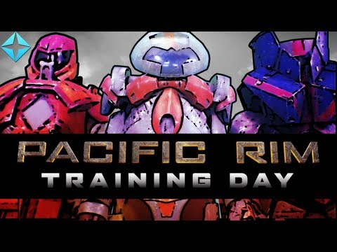 """Pacific Rim - Training Day with Jesse Cox, Dodger, Huskystarcraft, Totalbiscuit, and the GameGrumps"""