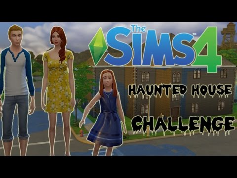 Let's Play The Sims 4 Haunted House Challenge - Part 1 - Working at the Library