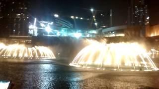 Burj Khaleefa Dubai Water fountain Show