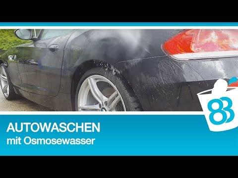 autowaschen ohne wasserflecken mit osmosewasser tipps gegen kalkflecken nach dem waschen. Black Bedroom Furniture Sets. Home Design Ideas