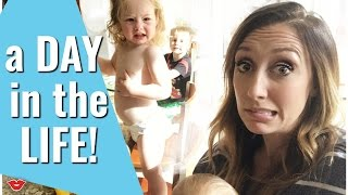 A Day In The Life! | Jordan from Millennial Moms
