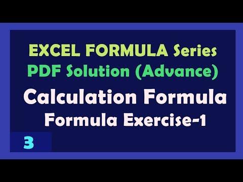 Basic excel formulas cheat sheet | excel cheat sheet download.
