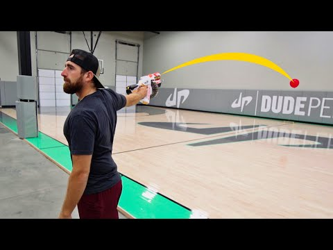 T-Bone - Dude Perfect-Nerf Trick Shots!