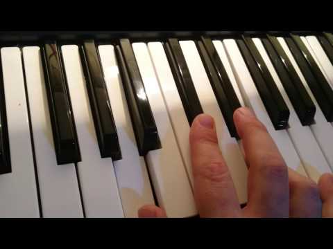 Shine - chords on keyboard