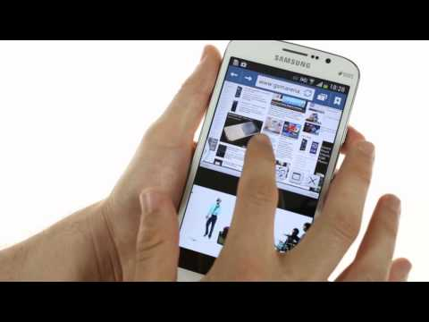 Samsung Galaxy Mega 5.8 user interface