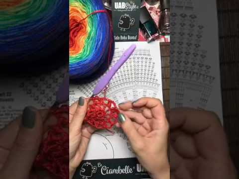Tutorial Mandala Alluncinetto 1a Parte By Uabstyle Youtube