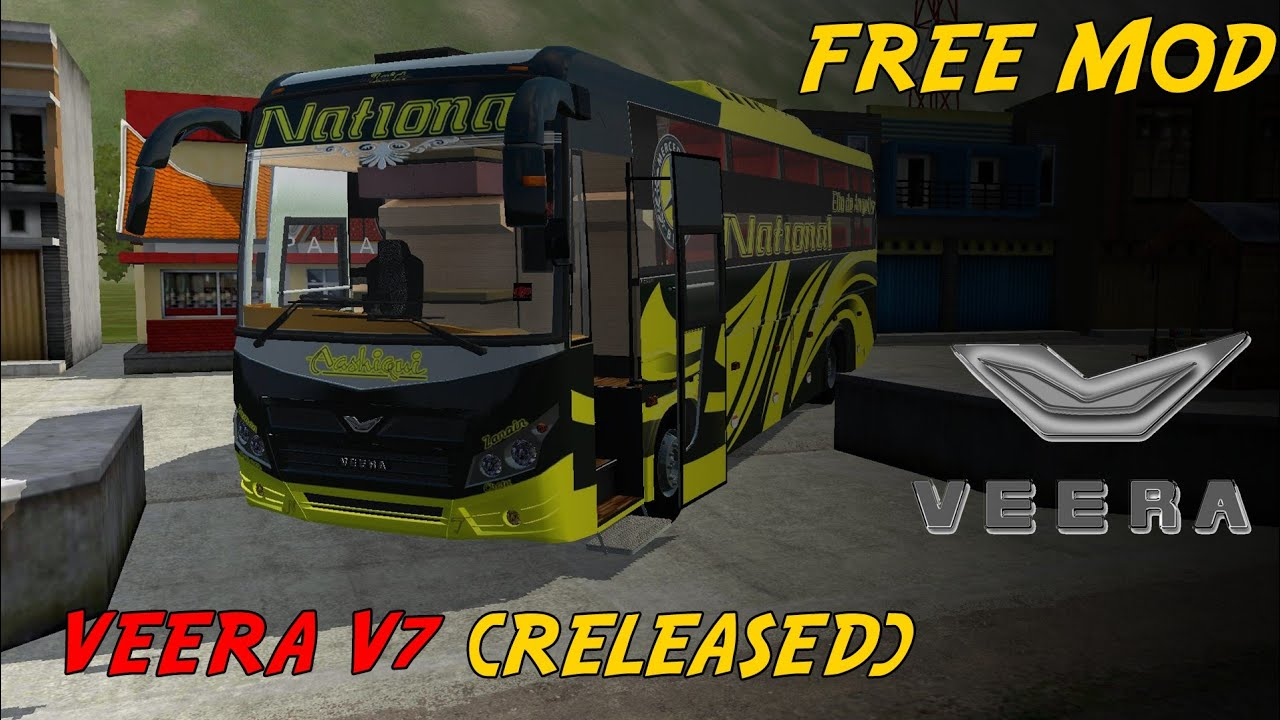 Veera V7 Ac Sleeper Bus Mod Release | IBS Gaming|